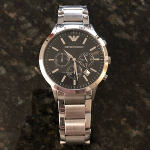 Emporio Armani AR2434 Men's Classic Steel Watch